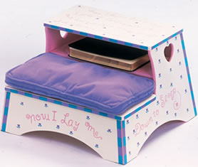Levels of Discovery Girl Prayer Stool - Model OSS30011