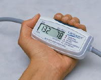 LifeSource UA-704 Mini Manual Inflation Blood Pressure Monitor - New mini size fits in the palm of your hand