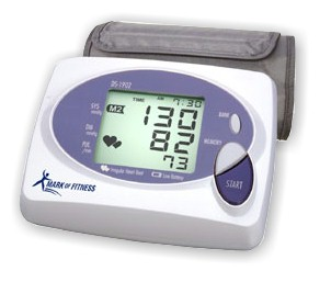 Mark of Fitness DS-1902 Digital Blood Pressure Monitor with Irregular Heartbeat Detection