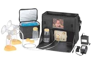 Medela Pump In Style Original is the original electric breast pump in a bag for the breastfeeding mom on the go. Medela breast pumps mean quality.