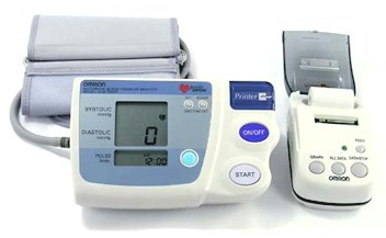 Model HEM-705CP Measurement Print-Out Blood Pressure Monitor