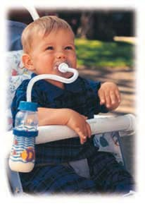 Pacifeeder - The Best Baby Bottle for Car Seats and Strollers...HANDS DOWN