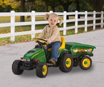 Peg Perego John Deere Farm Animals Hay Ride  IGED1065
