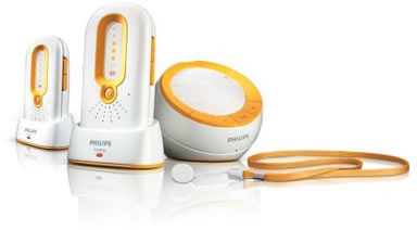 Philips SCD-590 DECT Digital Baby Monitor