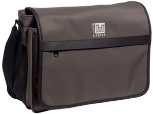 Red Castle Courier Bag