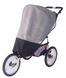 Sasha's Kiddies Sun, Wind, Rain & Bug Protectors for Jogging Strollers