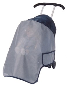 Sasha's Kiddies Sun, Wind, Rain & Bug Protectors for Strollers