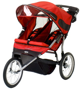 Schwinn Free Runner ST 2 Double Jogging Stroller Model 13-SC411A - 2008 Models - Free Shipping!