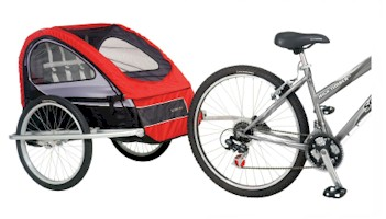 Schwinn 2008 Mark 2 Bike Trailer - Model 13-SC766 - Free Shipping!