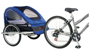 Schwinn 2008 Mark 3 Bike Trailer - Model 13-SC767 - Free Shipping!