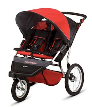 Schwinn Free Wheeler Double Jogging Stroller  - Model SC906A - Free Shipping!