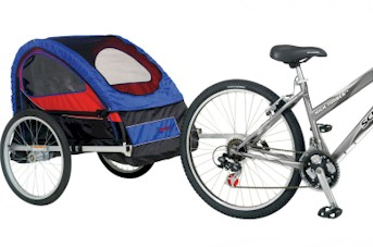 Schwinn 2008 Trailblazer Bike Trailer - Model 13-SC770 - Free Shipping!