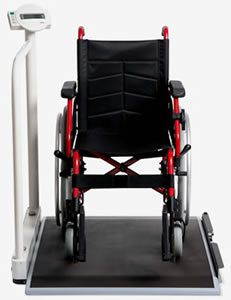 Seca 676 Digital Wheelchair Scales