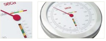 Seca 755 Dial Column Medical Scale with BMI