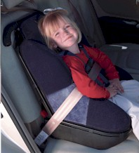 Forward Facing Child Restraint (for children one year of age and 20 to 40 lbs )
