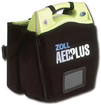 Zoll AED Plus Difibrillator with Case